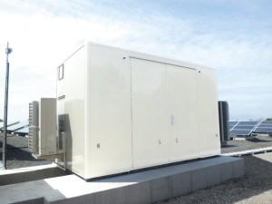 太陽光発電用パワコン収納箱(シェルター)
