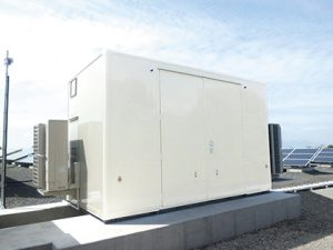 再生可能エネルギー設備用局舎(シェルター)