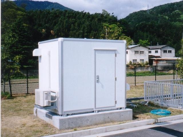 水質観測用局舎(シェルター)