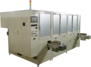 自動搬送機付ダイレクトパス洗浄装置
