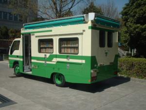 移動図書館車