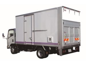 廃棄物計量車(守随製高精度車載計量機付きアルミバン)