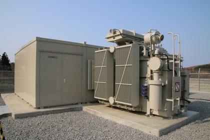 高圧受電設備・変電設備向け局舎(キュービクル)