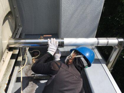 給排水配管の補修工事